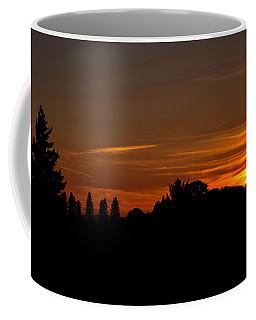 Sunset Silhoutte Coffee Mug