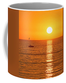 Sunset Solitude Coffee Mug by Ed Clark