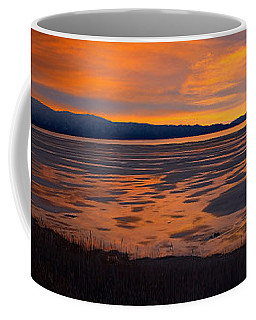 Sunset,  South Shore, Great Salt Lake Coffee Mug