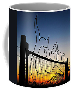 Sunset Spouting Whale Coffee Mug