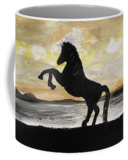 Sunset Stallion Coffee Mug