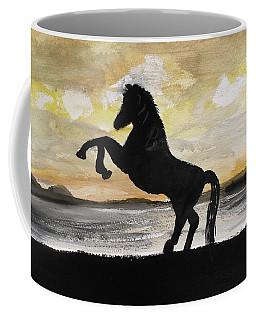 Sunset Stallion Coffee Mug