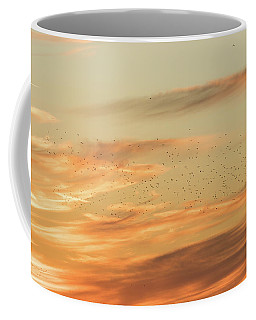 Sunset Starlings Coffee Mug