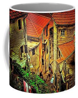 Sunset Street Coffee Mug by Yury Bashkin