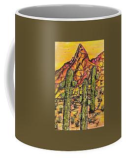 Desert Sunset Sunrise  Coffee Mug