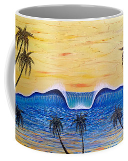 Sunset Surf Dream Coffee Mug