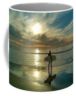 Sunset Surfer Coffee Mug