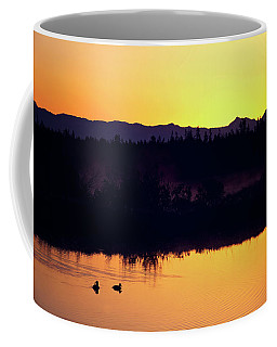 Sunset Swim Coffee Mug
