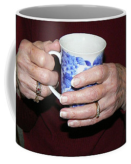 Coffee Mug featuring the photograph Sunset Tea by Pamela Patch