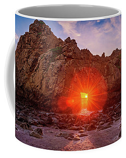 Sunset Through  Coffee Mug