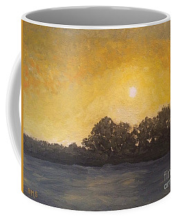 Sunset Through The Fog Coffee Mug
