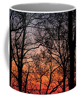 Sunset Through The Trees Coffee Mug