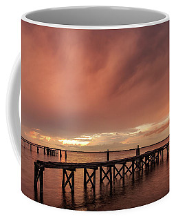 Sunset Thru Storm Clouds Coffee Mug