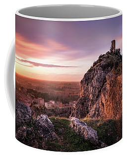 Sunset Tower - The Tower Of Caprona Near Pisa At Sunset Coffee Mug