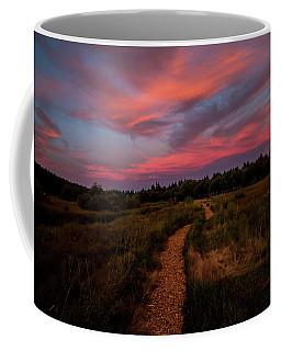 Sunset Trail Walk Coffee Mug