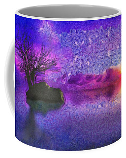 Sunset Tribute To Van Gogh Coffee Mug