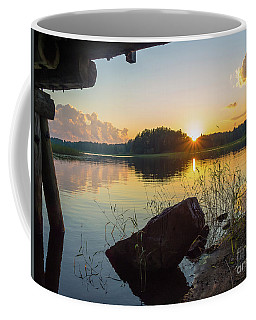 Sunset Under The Bridge Coffee Mug