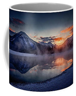 Sunset, Vermilion Lakes Coffee Mug