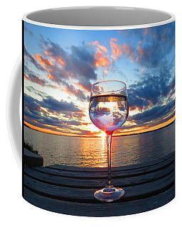 June Sunset On The River Coffee Mug