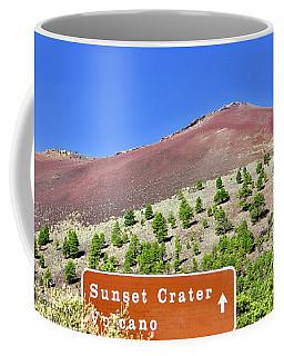 Sunset Crater Volcano Coffee Mug