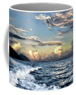 Sunset Wake Coffee Mug by Jim Hill