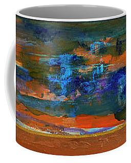 Sunset Panorama Coffee Mug by Walter Fahmy