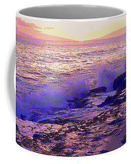 Sunset, West Oahu Coffee Mug by Susan Lafleur
