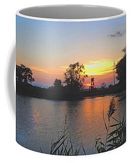 Sunset West Of Myer's Bagels Coffee Mug