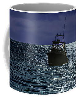 Sunsetting On Fisher Betting Coffee Mug