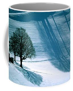 Coffee Mug featuring the photograph Sunshine And Shadows - Winterwonderland by Susanne Van Hulst