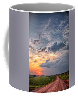 Sunshine And Storm Clouds Coffee Mug