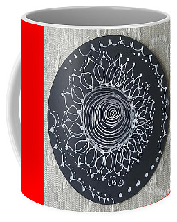 Coffee Mug featuring the drawing Sunshine by Carole Breccht
