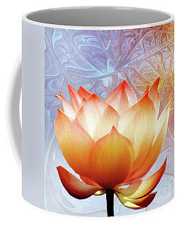 Sunshine Lotus Coffee Mug