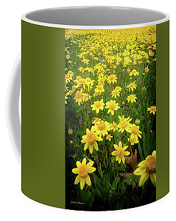 Sunshine Makes Me Happy Coffee Mug by Mick Anderson
