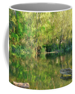 Coffee Mug featuring the photograph Sunshine On Nature By Kaye Menner by Kaye Menner