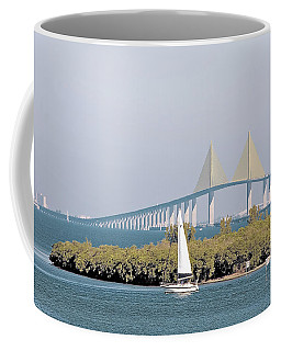 Sunshine Skyway Bridge Coffee Mug