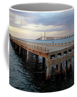 Sunshine Skyway, Old And New Coffee Mug