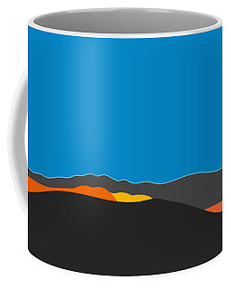 Sunst Range San Jacintos Coffee Mug