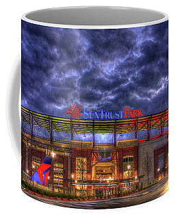 Suntrust Park Unfinished Atlanta Braves Baseball Art Coffee Mug