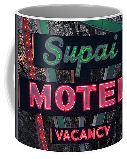 Supai Motel Neon Coffee Mug