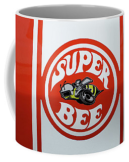 Coffee Mug featuring the photograph Super Bee Emblem by Mike McGlothlen