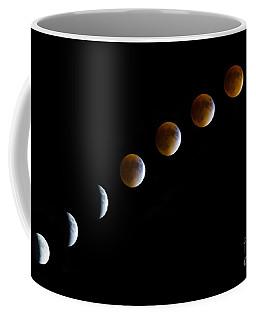 Super Blood Moon Time Lapse Coffee Mug