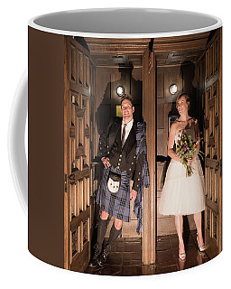 Super Hero Wedding Pose Coffee Mug