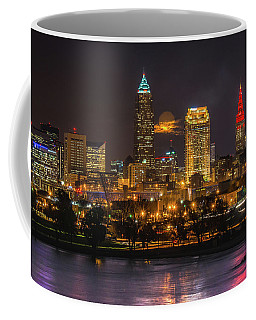 Super Moon 2016 Over Cleveland Coffee Mug