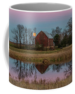 Super Moon And Barn Series #1 Coffee Mug