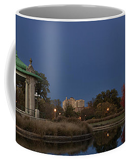 Coffee Mug featuring the photograph Super Moon by Andrea Silies