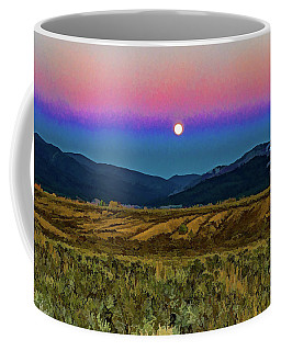 Super Moon Over Taos Coffee Mug