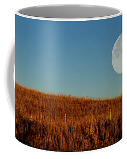 Super Moon Over The Prairie Coffee Mug