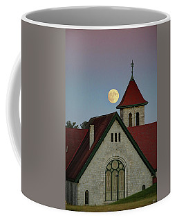 Super Moon Rising Coffee Mug