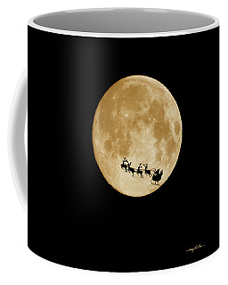 Super Moon Santa Coffee Mug
